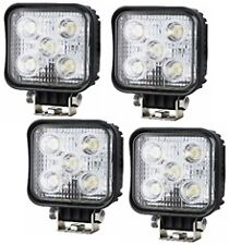4 x WORK LAMP LIGHT FLOOD BEAM LED COMPACT SUPER BRIGHT  SQUARE 10-36V 1000 LM