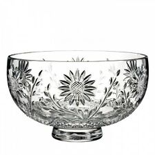 Waterford Crystal Flora & Fauna Sunflower Bowl