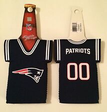 NEW ENGLAND PATRIOTS JERSEY BEER BOTTLE KOOZIE NEOPRENE BRAND NEW FREE SHIPPING
