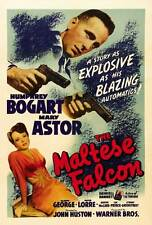 THE MALTESE FALCON Movie POSTER B 27x40 Humphrey Bogart Mary Astor Peter Lorre