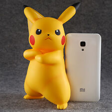 "7.5""/19cm giant pokemon go pikachu action figure big toy #4"