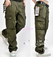 Womens Lady Leisure Pockets Baggy Work Long Loose Pants Hip Hop Trousers Overall