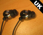 IN EAR EARPHONES HEADPHONES GYM FOR IPOD IPAD MP3 MP4 TOUCH IPHONE 4 4S 5 UK