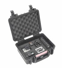 Heavy Duty Impact Camera Hard Case Box W/ Foam Waterproof for GoPro Nikon Canon
