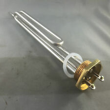 "HOT WATER ELEMENT STAINLESS STEEL HEATER WATER BOILER 3600W  1 1/4"" BSP"