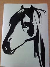 horse head horses stable door car vinyl sticker wall art graphic laptop door fun