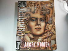 RE/SEARCH #13: ANGRY WOMEN- Lydia Lunch Susie Bright Diamanda Galas Kathy Acker