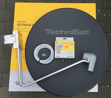 TechniSat SATMAN 850 Plus, 6385/8980,mit UNYSAT Quatro-Switch-LNB, grau, neu