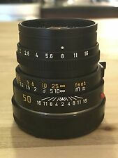 Leica 50mm f2.0 Summicron-M Type 4 *Made in Germany* *Metal Hood* + BW ND Filter