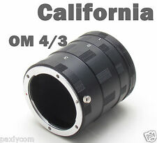 Olympus Macro Extension Tube Ring OM 4/3 Mount E-3 5 30 510 420 410 300 L10 L1