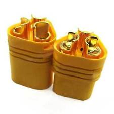 1 Pair MT60 Yellow Plug Male and Female for RC ESC to Motor