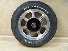 Kawasaki 500 EN VULCAN EN500-A1 Used Rear Wheel Rim 1990 #KB22 KW