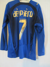 Italy 2006 Home WC Football Shirt LS Del Piero 7 /39188