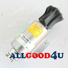 Run-ON Stop solenoid 04400-08800 for Mitsubishi S16R Series Engine Genset 24V