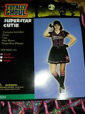 NEW Superstar Cutie Baseball Teen Girl's Costume Sz Small NWT - FREE SHIPPING