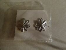 MILITARY INSIGNIA RANK SET OF 2 MEDAL OFFICER LIEUTENANT COLONEL LTC SHINY