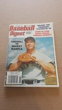 BASEBALL DIGEST MAGAZINE NOVEMBER 1995 FAREWELL TO MICKEY MANTLE NY YANKEES