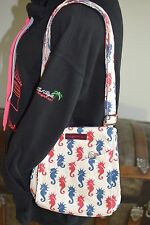 Bungalow 360 Übër Cute Sea Horse Small Messenger Bag!   3 Washable & Fun
