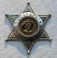 Vintage Wild Bill Hickok Marshal Toy Badge