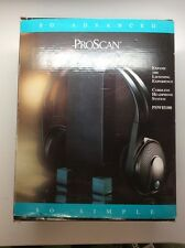 PROSCAN PSWH100 Cordless Headphone System RF Output Cordless System