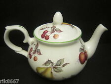Scatter Fruit 4 Cup English Fine Bone China Tea Pot By Milton China