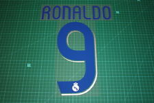 Real Madrid 06/07 #9 RONALDO Homekit Nameset Printing