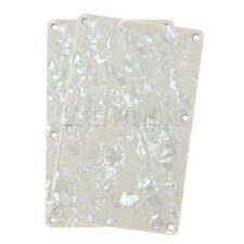 2*Replacement Back Plate Tremolo Cover For Ibanez RG Guitars-Pale Yellow Pearl