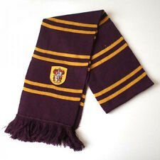 Harry Potter Gryffindor Thicken Wool Knit Scarf Wrap Soft Warm Costume Cosplay