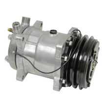 NEW SANDEN CLONE SD 508 DOUBLE PULLY AC COMPRESSOR AND CLUTCH