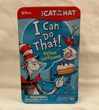 Dr. Seuss The Cat in the Hat I Can Do That! Activity and Memory Card Game & Tin