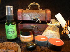 SAMHAIN HALLOWEEN RITUAL CELEBRATION CHEST wicca wiccan pagan altar spell kit
