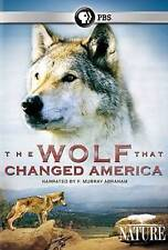 The Wolf That Changed America (DVD) PBS Nature Documentary BRAND NEW