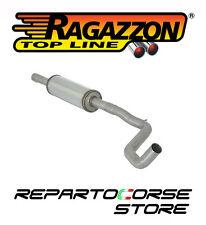 RAGAZZON SCARICO CENTRALE INOX FIAT 500 (312) 1.4 16V 74kW 101CV 07/2007 -