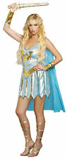 SEXY DRAGON WARRIOR QUEEN  ROMAN HALLOWEEN COSTUME SIZE SMALL