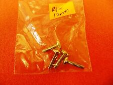 4 Pcs  *  6 # 32  12mm *  Screws * Round  Head  * for Computer PC Desktop Server