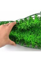 Aquarium Plastic Plant Grass Plant Fish Tank Landscape Lawn (UK SELLER)