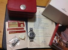 Omega Seamaster 300m Automatic 18k White Gold bezel, Box And Paper rare