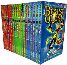 Beast Quest Series 1, 2 and 3 Collection Adam Blade 18 Books Set Brand NEW Cover