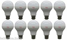 10 PCS OF RIDHU SUPER BRIGHT 9W LED BULB B22 WHITE 9WATT BULB FOR HOME