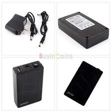 Durable 12V DC USB 5V Rechargeable Li-ion Battery 4 CCTV Camera New DF US