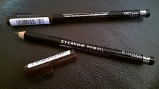 2 x Rimmel Professional Eyebrow Pencils 001 Dark Brown with brush