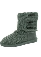 Bearpaw Women's Knit Tall Boots size 7 New! Extendable boot