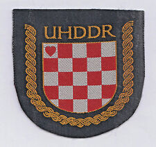CROATIA ARMY - UHDDR- Association of Croatian Homeland War Volunteers 1993 patch