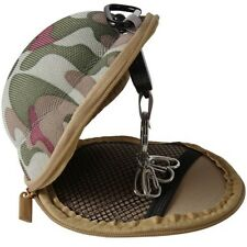 KIDS ARMY WALLET HELMET SHAPED CAMOUFLAGE COIN WALLET CAMO BOYS TRAVEL HOLIDAY