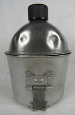 WWII US Army M42 Canteen & Cup Swanson & B.E. CO. 1945