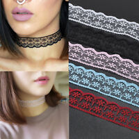 Vintage Stylish Womens Gothic Lolita Lace Sexy Collar Choker Necklace Jewelry