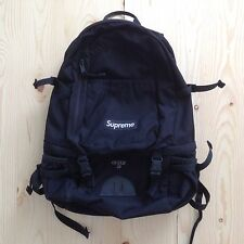 SUPREME 28TH BACKPACK GUIDE 28 SS 11 BLACK BAG BOX LOGO CORDURA VINTAGE LEOPARD