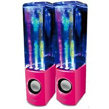 iBoutique The Original PINK Dancing Water Speaker ColourJets USB PC/Mac/MP3/etc
