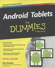 Android Tablets For Dummies, Gookin, Dan, Good Condition, Book