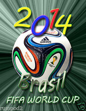2014 World Cup Soccer Event Poster /FIFA/BRASIL/Soccer Football/Rio/17x22 inch